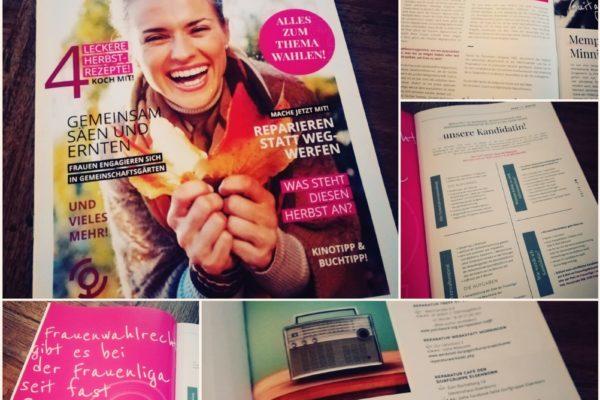 Bild zum Beitrag: Für unsere Zeitschrift anna-lyse
