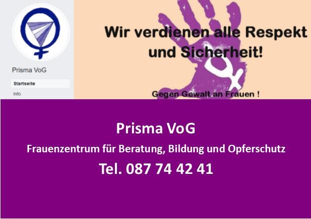 Prisma VoG – Hilfe bei häuslicher Gewalt